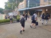 1학년2차 교통안전 캠페인(학생자치회)